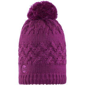 Buff Savva Knitted & Polar Fleece Hat Mardi Grape